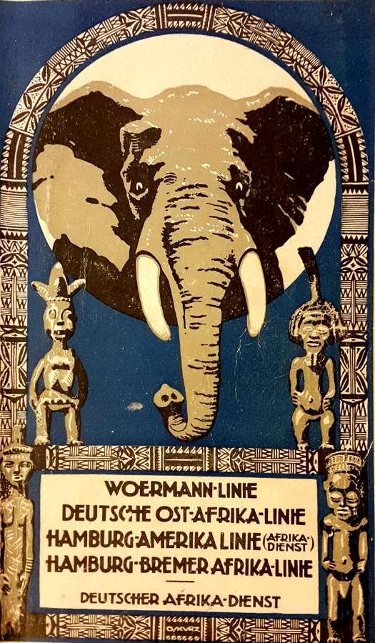 Hamburg Amerika Linie - Handbuch von 1923