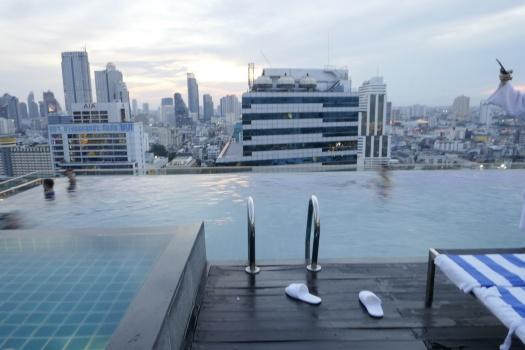 Spunky in Bangkok - Amara Hotel